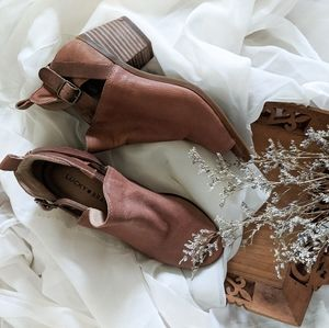 Lucky Brand Brown Ankle Boots
